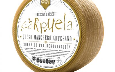 Queso Manchego Reserva Carpuela Entero